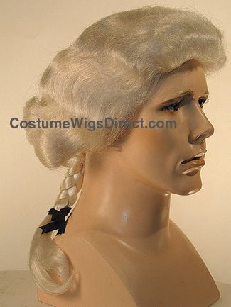 Colonial Hairstyles For Men George Washington Wig She