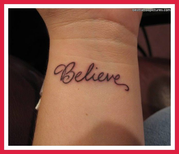 De 20+ Bedste Idéer Inden For Wrist Tattoos Quotes På