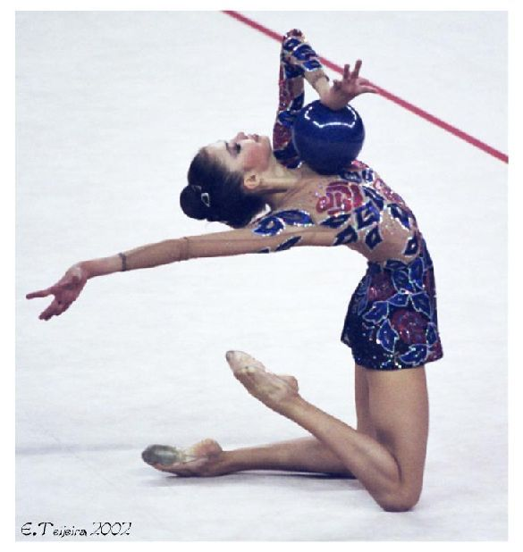 Dinara GIMATOVA (AZE) Ball