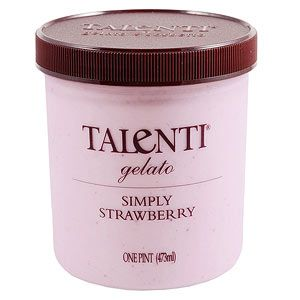 Craving some creamy gelato tonight? This pint is only 175 calories per 1/2 cup.