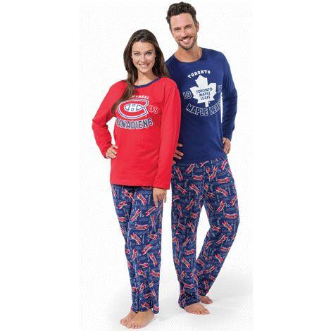 Adult NHL Pajamas - show your team spirit! Shop online at: http://www.interavon.ca/elisabetta.marrachiodo elizabeth.marra-chiodo@rogers.com