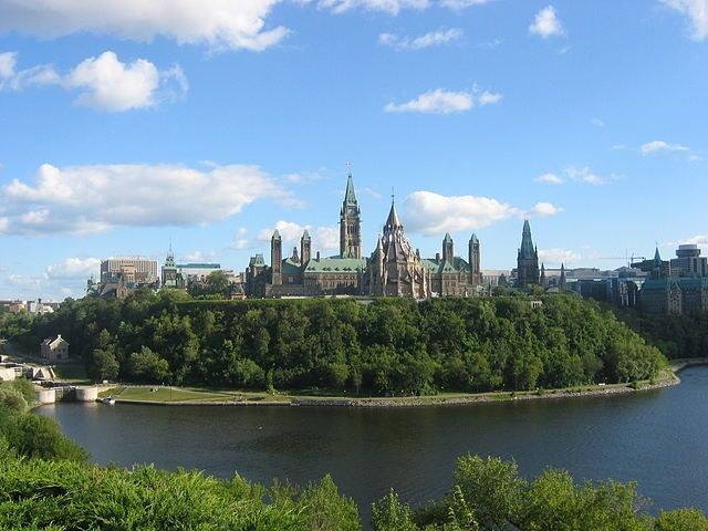 Parliament Hill, Ottawa, Canada Parliament Hill, colloquially known as The Hill, is an area of Crown land on the southern banks of the Ottawa River in downtown Ottawa, Ontario. #canada #parliamenthill #ottawa #ontario #travel #citytour #architecture #thehill