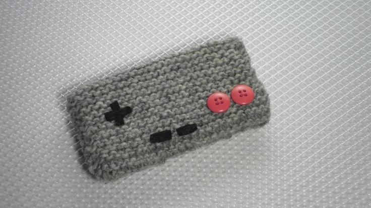 NES Nintendo Controller Cell Phone / iPod MP3 Cozy Cover Camera Case. $15.00, via Etsy.