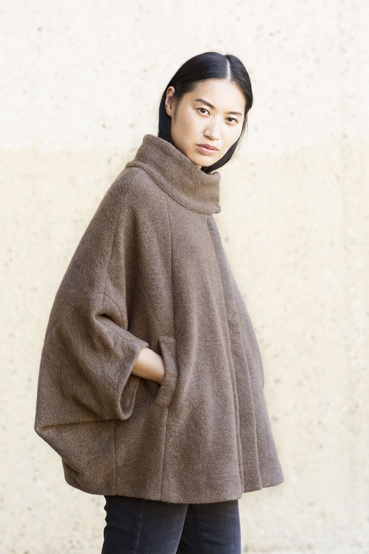 Nordic Light | Photography | Poncho | Fashion | Collection