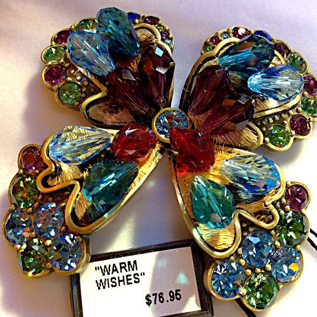 🌼AMAZING,STUNNING NWT PIN/BROOCH 🌺 on Carousell