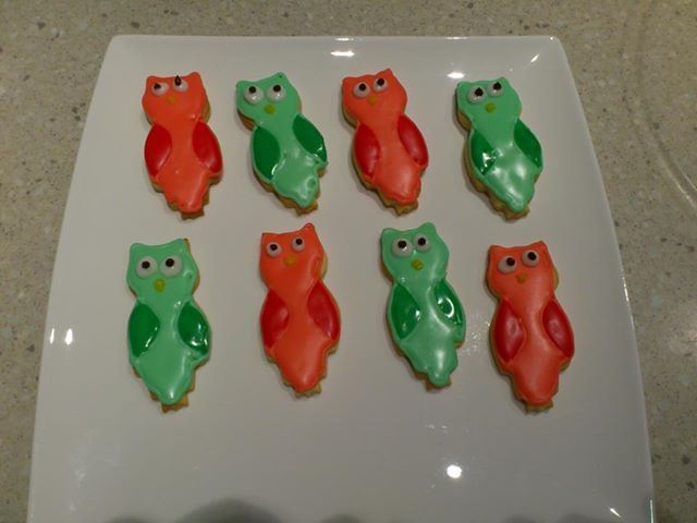 Owl biscuits