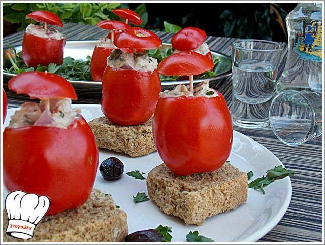ΝΤΟΜΑΤΙΝΙΑ ΓΕΜΙΣΤΑ ΜΕ ( ' ) ΤΟΝΟ!!! | Νόστιμες Συνταγές της Γωγώς