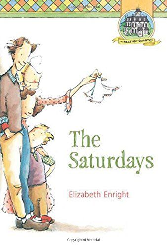 This is in the July order. First published in 1941, The Saturdays centers on the Independent Saturday Afternoon Adventure Club (I.S.A.A.C.), an venture formed so one lucky Melendy can enjoy a solo sojourn each week.  - from PW