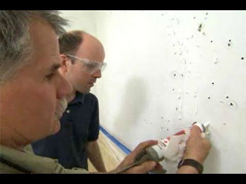 How to Repair Plaster Walls - This Old House - http://www.thehowto.info/how-to-repair-plaster-walls-this-old-house/