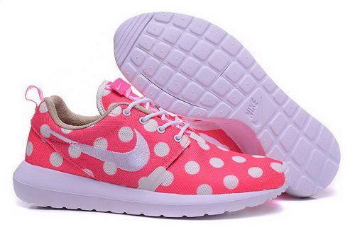 Nike Roshe Run Speckle Pattern Pink White 36-39 Norway(USD 75.00)-Shop Nike Free 5,0 Sko Online Butik Gratis Forsendelse Alle Ordrer!