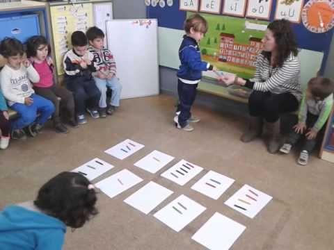 Conjuntos equivalentes. Infantil 3 años. - YouTube