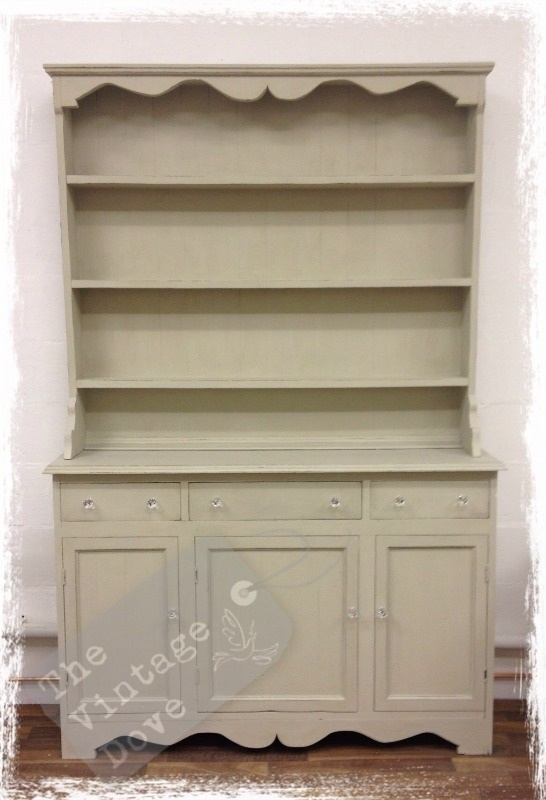 Dresser painted in Autentico Dolphin Chalk Paint