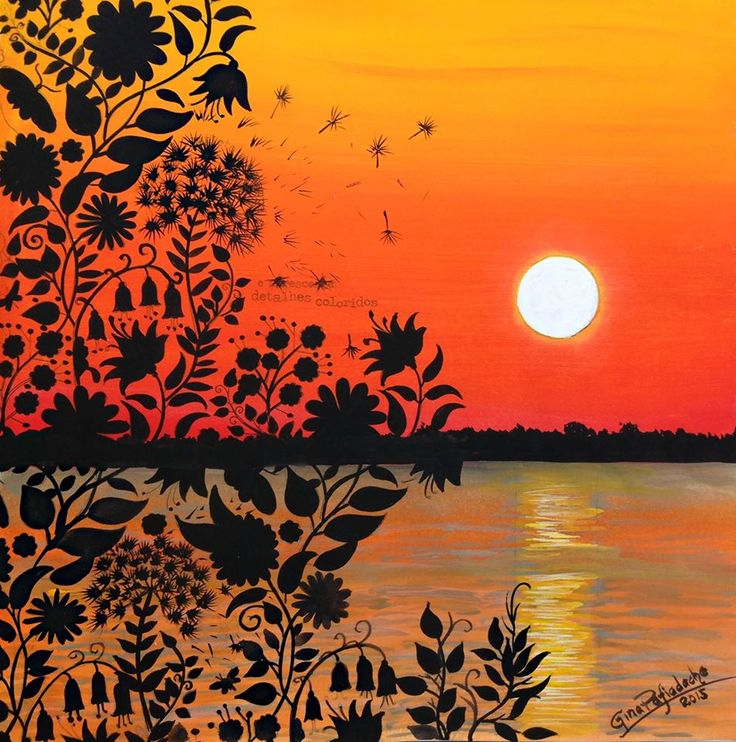 I Just Painted This Page Secret Garden My Idea Was To Honor An Important Lake Brazil