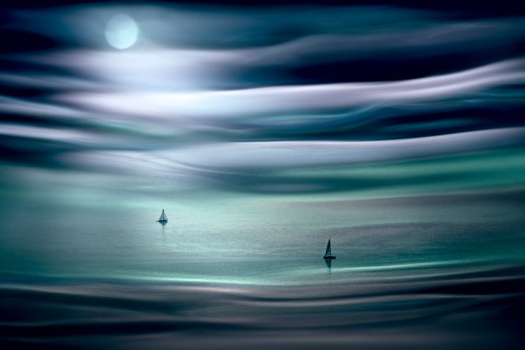 Sailing by Moonlight - null