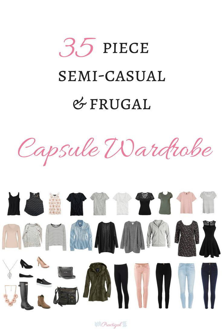 """Take a peak at the items in my spring capsule wardrobe for 2018, and even shop for the same or similar items. A capsule wardrobe is a smaller, pared down wardrobe of only items you absolutely loveand are versatile, timeless, and of high quality, allowing you to create many outfits with fewer items! Click through to article to see an example of a spring capsule wardrobe and get a FREE e-book, """"How to Create a Capsule Wardrobe That Works For You""""."""