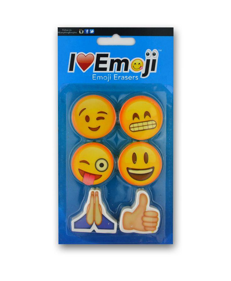Emoji Eraser Pack (Set 1)