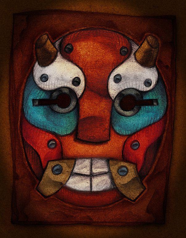Mask - Flavio Ramos (Print)