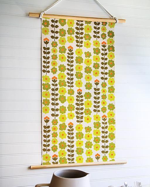 141 best DIY Wallpaper Crafts images on Pinterest | Wallpaper crafts ...