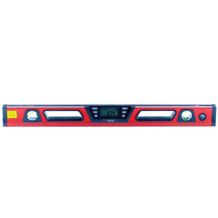 Электронный лазерный уровень ADA ProDigit 60Электронный лазерный уровень ADA ProDigit 60 Электронный лазерный уровень ADA ProDigit 60 А00168 - это незаменимый прибор при строительных и ремонтно-отделочных работах. С его помощью можно строить горизонтальные и вертикальные лазерные лучи, а также измерять уклоны. Возможна установка устройства на штатив, а также крепление на металлическую поверхность. Технические характеристики Длина уровня, м 0.6  Диапазон измерения уклона, град. 2 х 0-180…