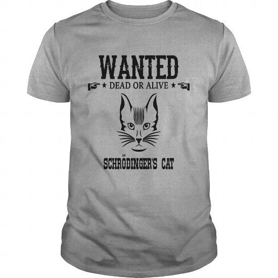 For Geeks; Schroedinger's Cat T-Shirts