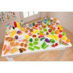KidKraft Tasty Treats Pretend Play Food Set - 63330 - Play Kitchen Accessories at Hayneedle