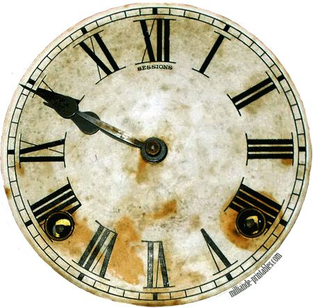 Antique Clock Faces Template Printables At Wwwmilliande