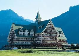 Another view of the Prince of Wales Hotel, Waterton, Alberta, CANADA