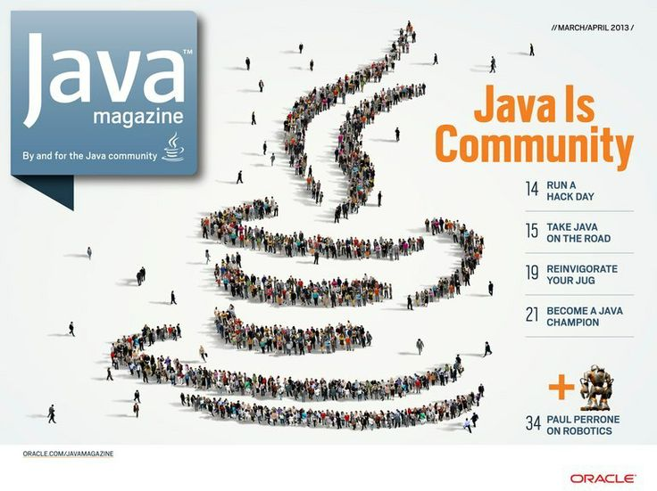 Java Magazine - March/April 2013 - Front Cover