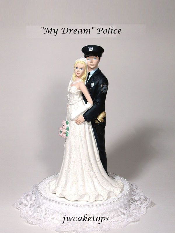 12 best Law Enforcement Wedding Cake Toppers images on Pinterest ...