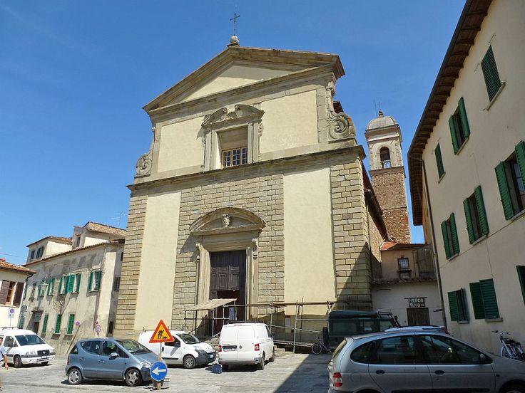 http://www.cult-turist.ru/img/16681_orig.jpg Ареццо. Chiesa di Santa Maria in Gradi. Построенная в романском стиле (11- 12 вв), она была переделана в барочном стиле Бартоломео Амманнати (1592).