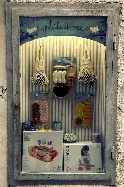 Beautiful display in Genova. Italy.
