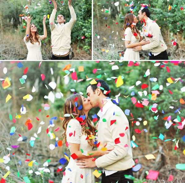 The sweetest engagement photos for couples who know how to celebrate! | Priscila Valentina Photography