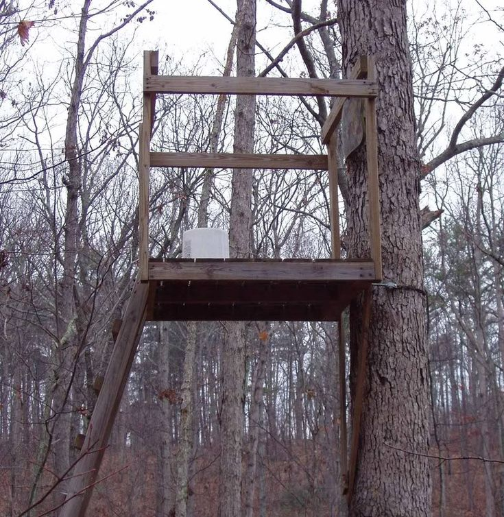 14 best deer blind plans deer box plans deer stand for Diy deer stand plans