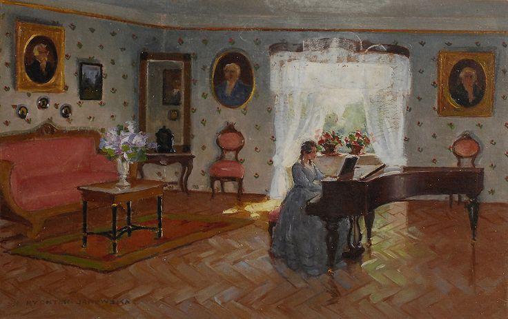 Bronisława RYCHTER-JANOWSKA (1868-1953)