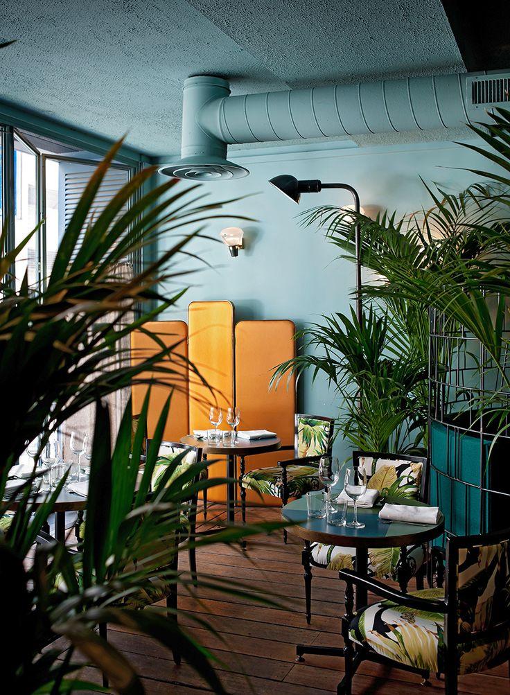 Britt Moran and Emiliano Salci from Dimore Studio create this italian café-restaurant in Paris, Burlot!