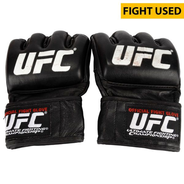 Thomas Almeida Ultimate Fighting Championship Fanatics Authentic UFC 189 Mendes vs. McGregor Fight-Worn Gloves - Defeated Brad Pickett via Second Round Knockout - $1249.99