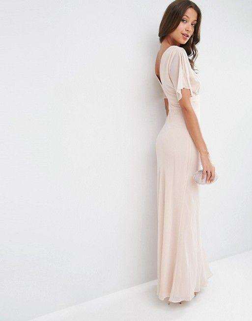 ASOS Tall | ASOS TALL WEDDING Soft Maxi Dress
