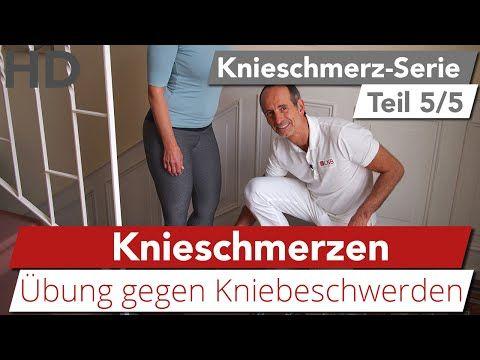 Knieschmerzen Übung // Kniebeschwerden, Oberschenkelschmerzen - YouTube
