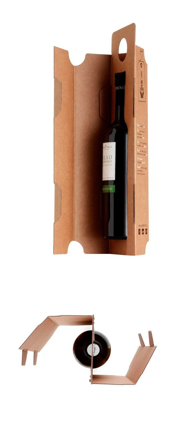 packaging / Olio Flaminio by Giovanna Gigante / cardboard