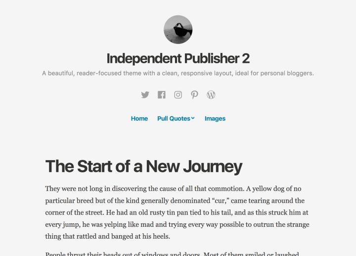 Take a peek into my blog here 👀 Independent Publisher 2 Is Here https://en.blog.wordpress.com/2017/04/25/independent-publisher-2-is-here/?utm_campaign=crowdfire&utm_content=crowdfire&utm_medium=social&utm_source=pinterest