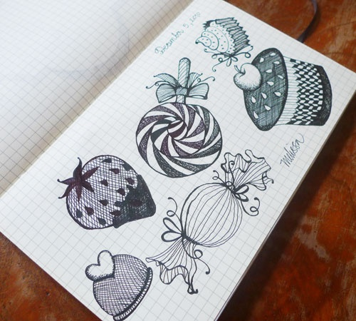 Delish cakes in Melissa's Delightfully Yours sketches brought those oxytocin to work