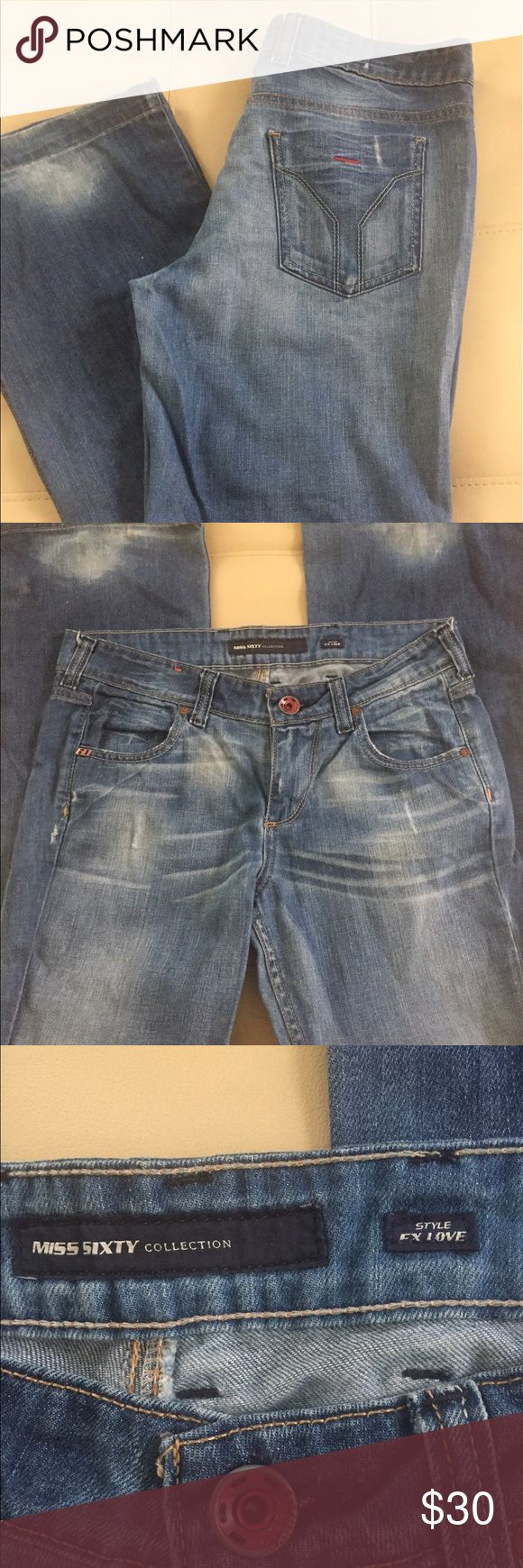 Miss Sixty jeans 👖 30/32 Miss Sixty jeans 👖 soft light weight 🔹🔹 Miss Sixty Jeans Flare & Wide Leg