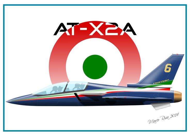 AT-X2A, Unbuilt Italian aircraft of the 80s. Marco Riva 2014
