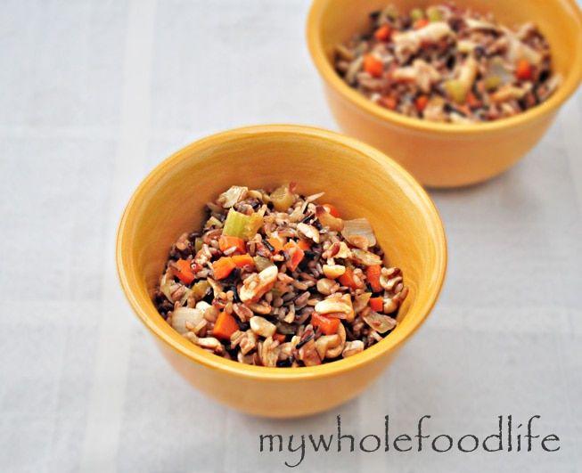 fried rice, fried rice recipe, fried rice with cashews, stir fried rice, vegan fried rice, gluten free fried rice recipe, healthy fried rice,