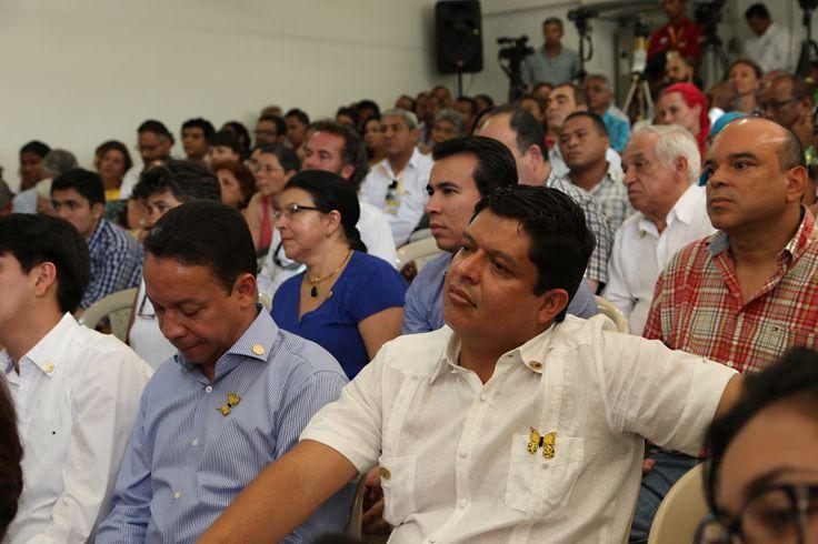 En Aracataca con un emotivo conversatorio se rindió homenaje a Gabo, en el marco del Hay Festival. Fotos: Edward Lora M - @edwardloram