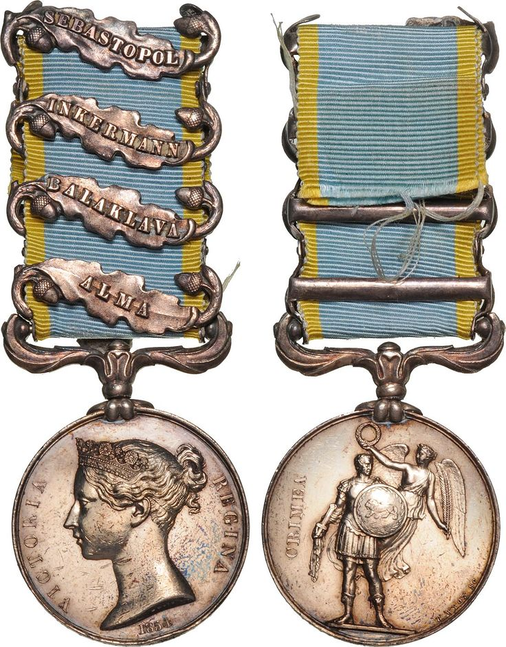 British campaign medal of Crimea War 1854