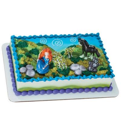 Hy Vee Decorated Cakes Brave Merida And Angus Cake
