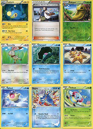 Pokemon 12 Card Lot with Rare & Reverse Holo Kakuna