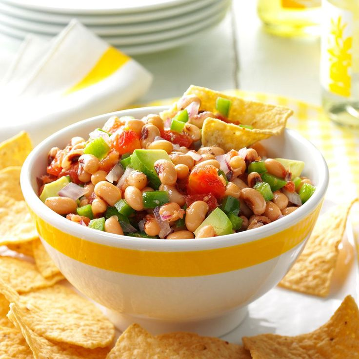 """Classic Texas Caviar Recipe -Becky Oliver of Fairplay, Colorado created this quick appetizer. Writes Becky, """"I adapted this recipe from a cook book I received a long time ago, and now, I can't imagine a get-together at my house without it."""""""