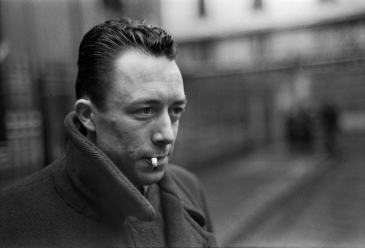 Albert Camus: A man of vision, a man of intensity and intelligence. I admire the hell out of him.